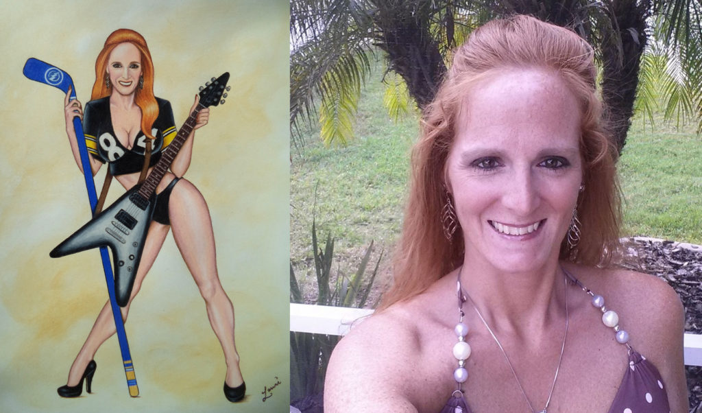 Becky side by side