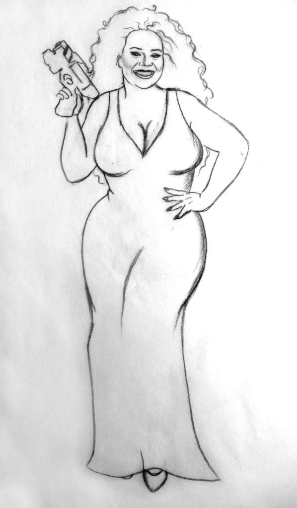 Traci sketch
